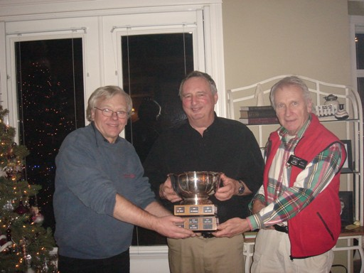 John and Bill present the Nells Cup to Brian